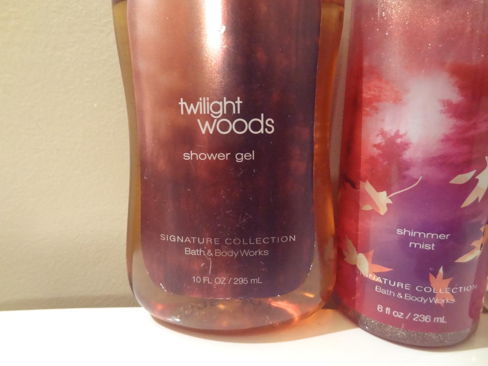 Bath Body Works Set Of 3 Twilight Woods And 50 Similar Items Spray For Men Shower Gel Shimmer Mist Perfume