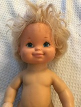 """Vintage Luv A Bubble Tender Love Baby Doll 14"""" Mattel  Rubber - $15.83"""