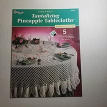 Tantalizing Pineapple Tablecloths Crochet Jo Ann Maxwell Needlecraft Shoppe - $18.68