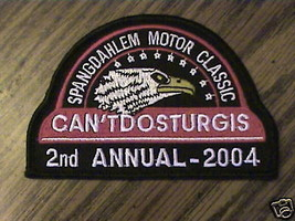SPANGDAHLEM MOTOR CLASSIC,2ND ANNUAL 2004,CYCLE PATCH - $14.25