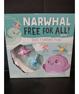 New Sealed Narwhal Whale Kids Free 4 All  Carnival type Board Game Fast ... - $15.97