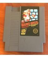 Super Mario Bros (Nintendo Entertainment System, 1985) standalone NES go... - $15.63