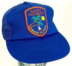 """St. Thomas Virgin Island"" Hat-Mesh-Patch-Snapback-Vintage - $15.79"