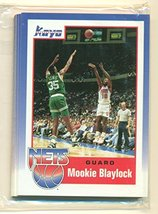 1990-91 Kayo New Jersey Nets 14-Card Set with Coleman Blaylock Bowie and... - $7.87