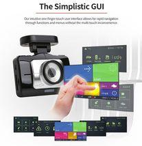 "Lukas LK-9370 Blackbox Dash Camera 2CH Full HD Wi-Fi 3.5""LCD Dual 8Gb+8Gb+GPS image 4"