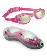 new Swimming Goggles No Leaking Anti Fog UV Protection Adult Men Women K... - $22.54