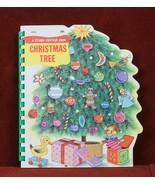 Christmas Tree  A Sturdi-Contour Book 1966 Board Book Childrens - $11.88