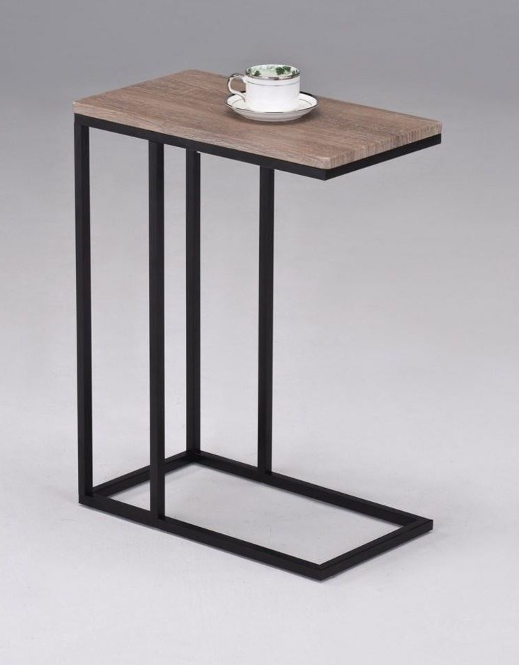 TV Tray Table Chairside Snack Side Stand End Faux Wood