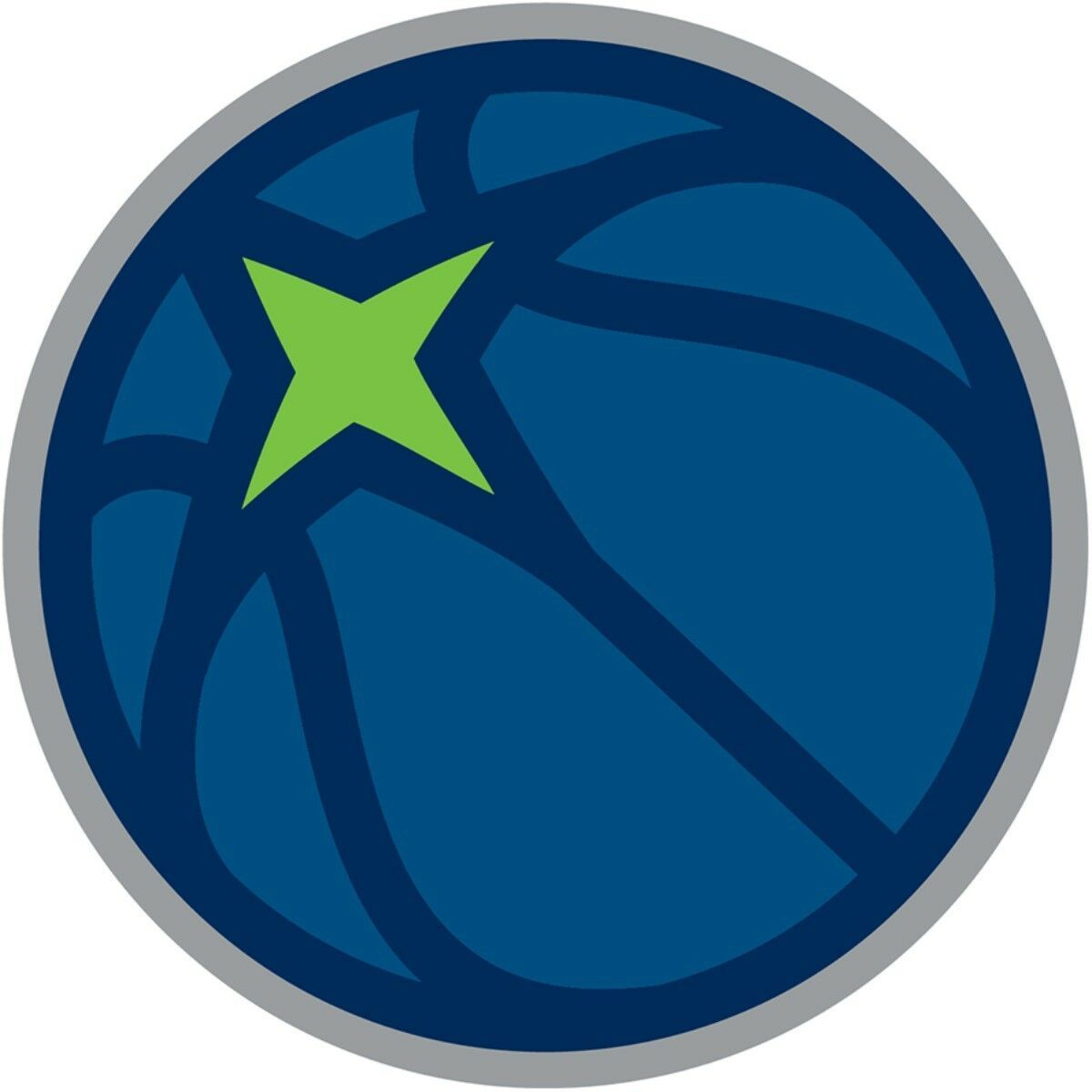 Minnesota Timberwolves #10 NBA Team Logo Vinyl Decal Sticker Car Window Wall - $6.28 - $11.10