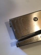 Vintage 60s Silver Neva-Clog J-30 handheld stapler image 3