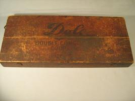 Vintage DOLE Double Compression Couplings Wood Box Chicago, Illinois [Y17] - $67.68
