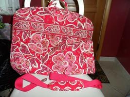 Vera Bradley Rosey Posey Garment bag EUC - $90.00
