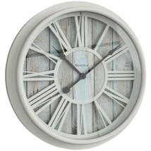 Westclox 33976 15.5-Inch Antique White Clock - $32.90