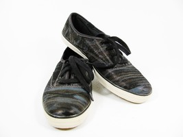 Keds Sparkle Gray Women's Walking Athletic Sneakers Lace Up Shoes Black ... - $29.69