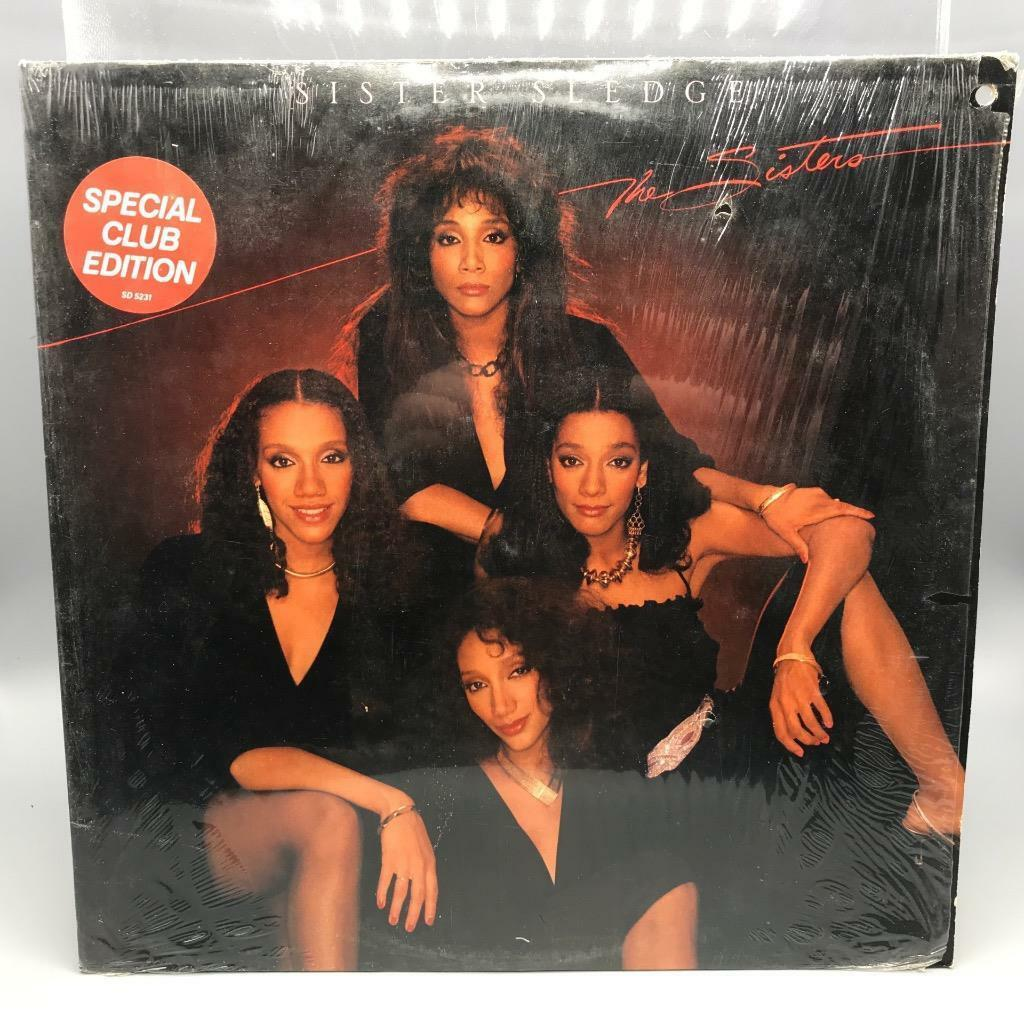Primary image for Vintage Sister Sledge Sisters Record Album Vinyl LP in Shrink