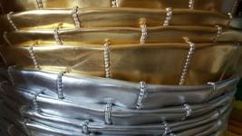 Pouf /  PU SKI leather  ottoman image 2