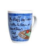 Colorful Porcelain Manager Mug - $14.99