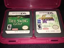 Hannah Montana: Música Jam y Tres Swing Golf (Nintendo DS, 2007) - $16.66