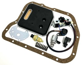 A518  46RE Transmission Filter Kit & Solenoid Set & Sensor & Spring 2000 Up - $171.77