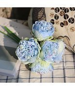 KPST Flowers - Artificial Flower Peony Silk Peonies Christmas Wedding Pa... - $34.07 CAD
