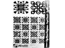 Rubber Stamp Concepts Olga Ponce Furginson Rubber Background Stamp Set #KCSKS41