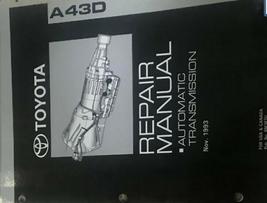 Toyotoa A43D Repair Manual Automatic Transmission Manual OEM - $34.60