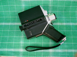 VINTAGE Black POLAROID Polavision Land Camera w- Zoom & Focus Austria AS-IS - $29.99