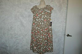 NWT Karin Stevens  career Floral Print Sheath Dress Size 14 - $5.87