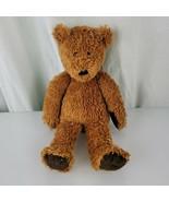 Vintage Jellycat Golden Brown Teddy Bear beans Dark Chocolate Paw Pads F... - $128.69
