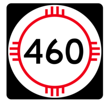 New Mexico State Road 460 Sticker R4189 Highway Sign Road Sign Decal - $1.45+