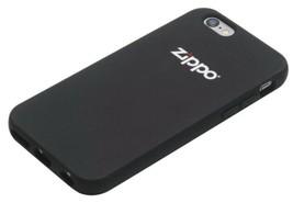 ZIPPO iPhone 6 Silicone Cover / Soft Rubber Case - Black - £10.74 GBP