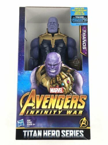 "NIB Marvel Avengers Infinity War Titan Hero Series THANOS 12/"" Action Figure!!"