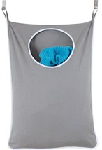 Laundry Nook, Door-Hanging Laundry Hamper with Stainless Steel Hooks, Gr... - €16,96 EUR