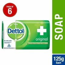 Dettol Original Soap, 125g (Pack Of 6) - $39.59