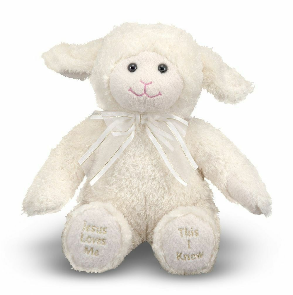 Primary image for Melissa & Doug Jesus Loves Me Lamb Plush - Stuffed Animal With Sound Effects