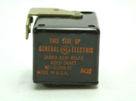 GE 3ARR3 A2J6 Relay General Electric 3ARR3-A2J6 Relay Used - $19.79