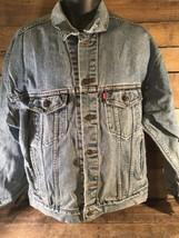 LEVIS Blue Jean Denim Jacket Size L 70507-4809 - $39.59
