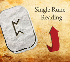 1 Rune Stone Reading/1 Question image 1