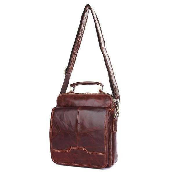 Sale, Men's Leather Satchel Bag, Messenger Bag, Leather Messenger, Shoulder Bag image 2