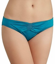 Coco Reef Bikini Bottom Sz M Lagoon Blue Solid Detailed Swimwear Bottom ... - $19.71