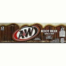 A&W Root Beer 12 oz cans (pack of 12) - $19.70
