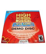 Walt Disney HIGH SCHOOL MUSICAL DVD Game DEMO DISC Movie Promo Item FREEBIE - $0.00