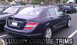 Mercedes C Class W204 Chrome Taillight Trim Bezels by Luxury Trims 2008-... - $98.99