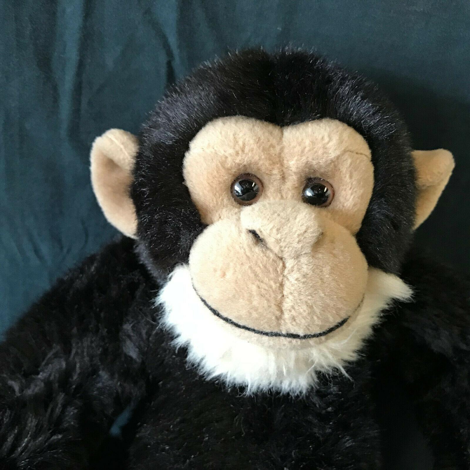 "Webkinz Gold Signature Chimpanzee plush 12"" Ganz No Code"