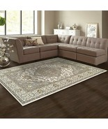 Superior Glendale Collection Green Oriental Design 4' x 6' Area Rug  - $47.95
