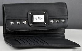 new guess Geela Slim Clutch black - $35.00