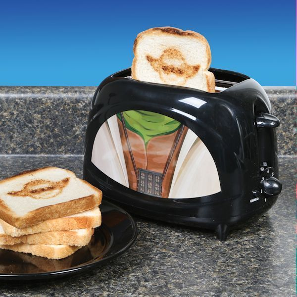 Star Wars Toaster Empire Collection Yoda Character Dorm Man Cave