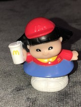 Fisher Price Little People Sonya McDonalds Main Street Asian Girl - $19.79