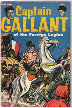 Captain Gallant of the Foreign Legion Comic #1, Charlton 1955 VERY FINE+ - $57.97