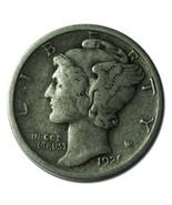 1921D Mercury Silver Dime 10¢ Coin Lot# MZ 3332 - €259,33 EUR